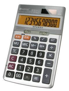 太陽能/電池雙電源/桌上型稅率計算機/計算機/傾斜腳架設計/對比清晰護眼