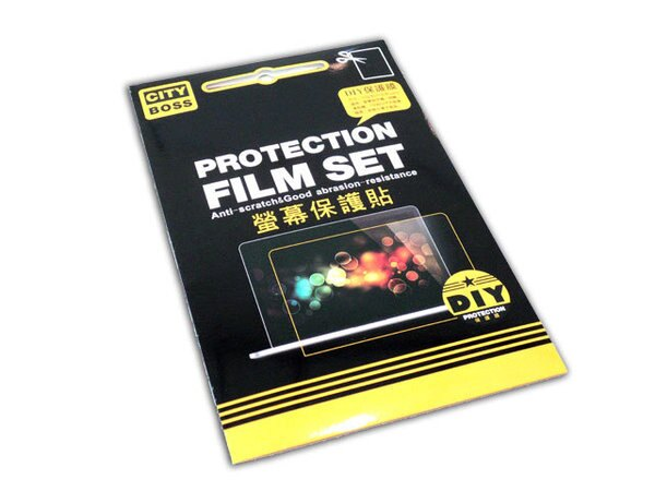 DIY 7吋以內適用 12.5x21cm 亮面螢幕保護貼/CITY BOSS 防眩耐刮 可裁切 觸控螢幕專用 6.9/6.8/6.8/6.6/6.5 平板 手機 PDA LCD 單眼 相機