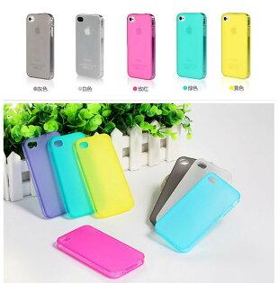 Apple I phone 4S/iPhone 4 薄型TPU套 類似款 自帶防塵塞 一體成型 可開關 保護套 清水套 軟殼 背蓋