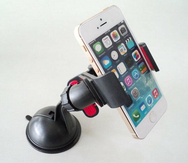 SAMSUNG 萬用 HO-319 車架/夾式手機架/手機/導航固定架/車用/支撐架/汽車手機座/導航支架/影片架 油壓超強固定架/GPS/PDA/PSP