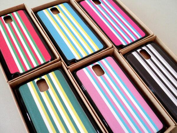 Samsung Galaxy Note3 N7200 N9000 N9005 Note 3 N3 特製 手機背蓋 保護殼 手機殼 手機 保護套 TPU 背蓋 條紋 七彩 直條 經典 不敗 運動 風