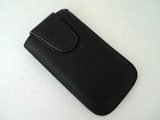4.8吋適用 手機套 S3/亞太 i939 優質皮革抽拉式皮套/直入式皮革保護套/手機袋/磁扣/i9300/行動電源/ipod/mp3/mp4/mp5/3C數位包