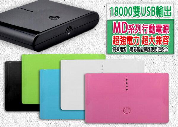 *BSMI* 台灣製造 超大容量 18000 雙USB輸出 POWER BANK 行動電源 移動電源 USB充電/旅充/電源供電/緊急供電/全新三星電芯/額定容量11000mAh/TIS購物館