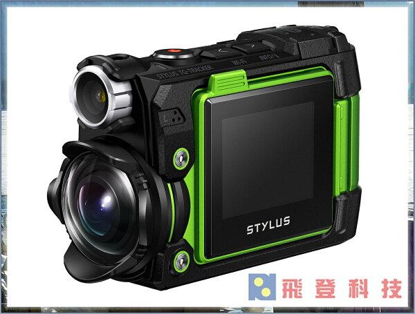 【防水相機】加送64G大全配 OLYMPUS TG-Tracker運動攝影機(公司貨)4K錄影 防水30米!