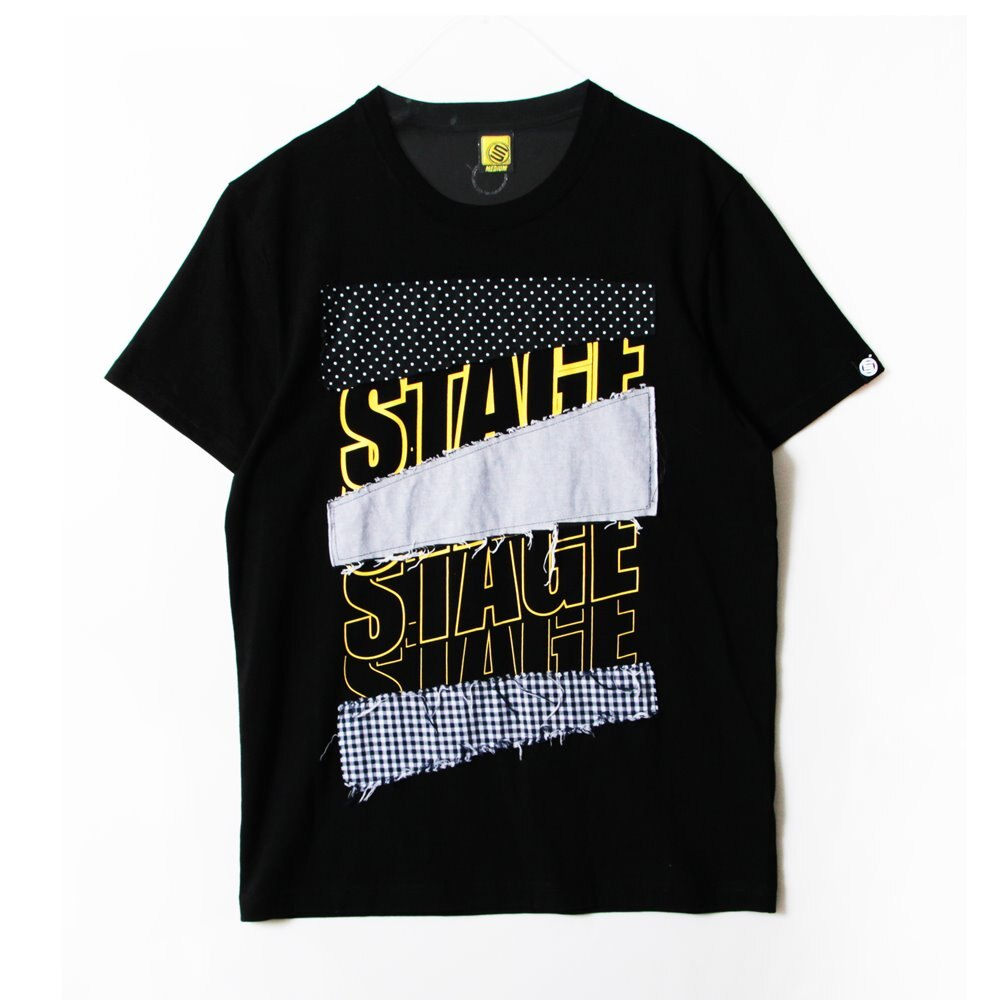 STAGE MIXER SS TEE 黑色 2