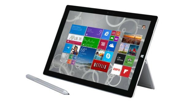 Surface Pro 3 (i5/8G/256G)  平板電腦 + 再送原廠背光鍵盤 (九成新)