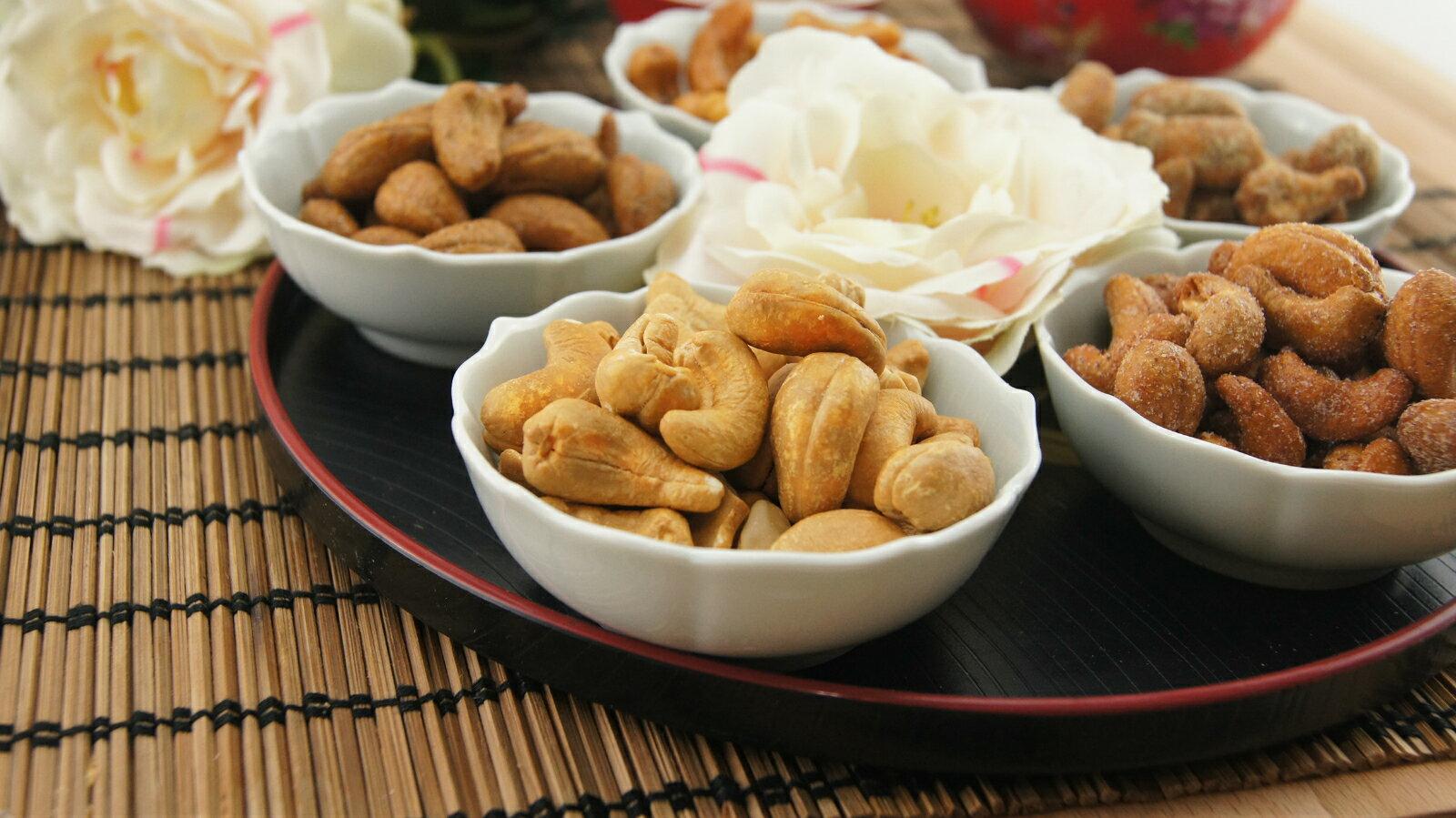 《東來腰果》【分享包300g-原味】~香酥清脆好爽口 3