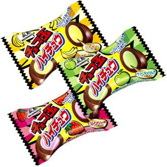 [日本人氣零食]MORINAGA森永水果嗨啾巧克力大玉(10g) 夾心巧克力球 草莓 香蕉 蘋果-日本直輸 | 新鮮到貨=