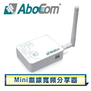 AboCom WR5204E 802.11N Mini無線寬頻分享器