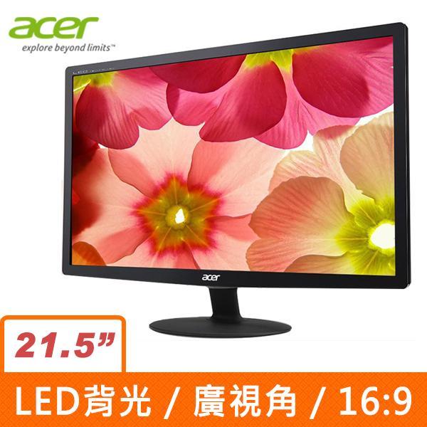 Acer S220HQL(Fbd) 21.5吋(16:9)LED液晶顯示器