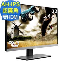 AOC i2267FWH 22型寬IPS超廣角窄邊框液晶