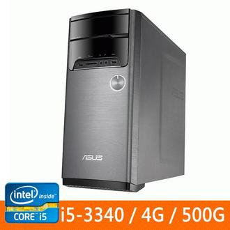 ASUS M32AA1-334570A(i5-3340)桌上型電腦 (NO OS) I5-3340/DDRIII 1600 4G SO-DIMM //SATA 500G/DVD RW
