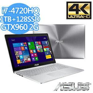 ASUS UX501JW-0392A4720HQ 家用筆記型電腦 I7-4720HQ/16G/1TB/128G/GTX960M/WIN8.1