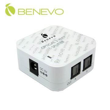 BENEVO UltraVideo 2埠數位光纖音訊分配器 ( BDTS102 )