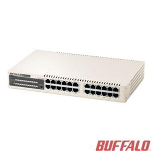 Buffalo LSW4-GT-24NSR-TW 24埠鐵殼GIGA交換器