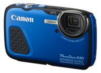 Canon佳能到Canon PowerShot D30 ( 防水) 藍色數位相機