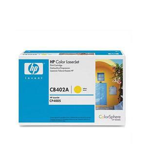 HP CB402A黃色碳粉匣