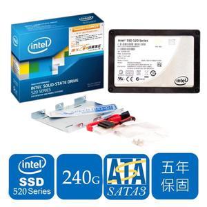 Intel SSD 520系列(Intel520-SSDSC2CW240A3K5)