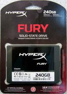 Kingston 金士頓SHFS37A/240G HyperX FurySSD 固態硬碟