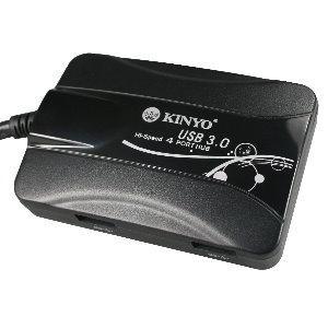 KINYO HUB-30 USB 3.0超高速集線器