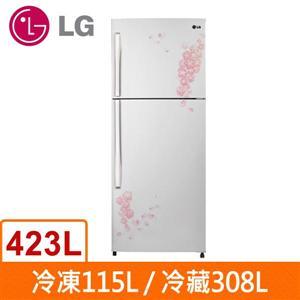 LG樂金423公升雙門電冰箱(GN-L562NP)