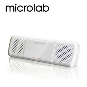 【Microlab】USB 2.0聲道可攜式多媒體音箱(MD-200) (黑/白 兩色)