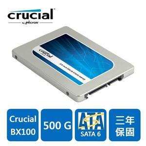 Micron Crucial BX100 500GB SSD 固態硬碟