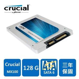 Micron Crucial MX100 128GB SSD  固態硬碟
