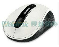 Microsoft D5D-00013-A 無線行動滑鼠4000 白色