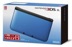 任天堂掌上型主機  3DS XL 藍黑/白 兩色款