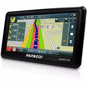 PAPAGO WayGo 220 五吋高效能衛星導航機