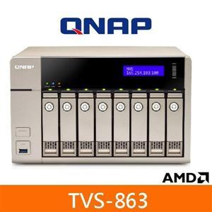 QNAP TVS-863+ 網路儲存伺服器
