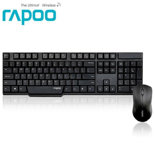 Rapoo 雷柏1830-黑 無線光學鍵鼠組
