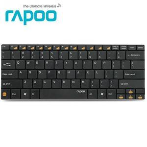 Rapoo 雷柏E6100 藍芽無線超薄鍵盤-(黑 /白 兩色)