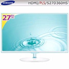 SAMSUNG 27型PLS寬螢幕(S27D360HS)