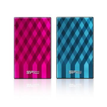 """Silicon Power D10 HDD 1TB 2.5"""" U3 行動硬碟 (粉/藍 二色)"""