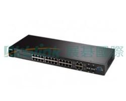 ZYXEL GS-2200-24P L2+ 網管型網路交換器