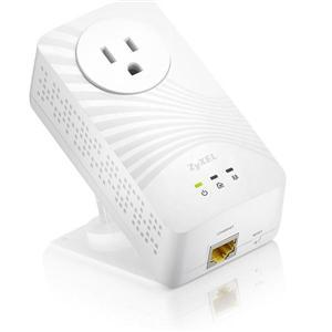 Zyxel PLA-5215(單包裝)600M電力線上網設備 含濾波插座