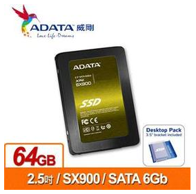ADATA威剛  XPG SX900-64GB  SSD 2.5吋固態硬碟