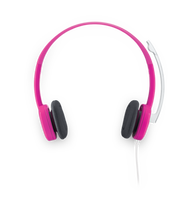 羅技 立體聲耳機麥克風 H150 藍 紅 兩款