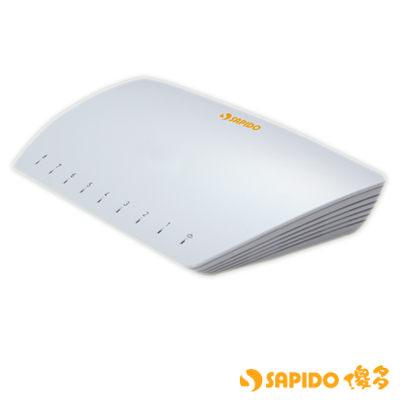 SAPIDO  HF-3208  8埠智慧型高速乙太網路交換器