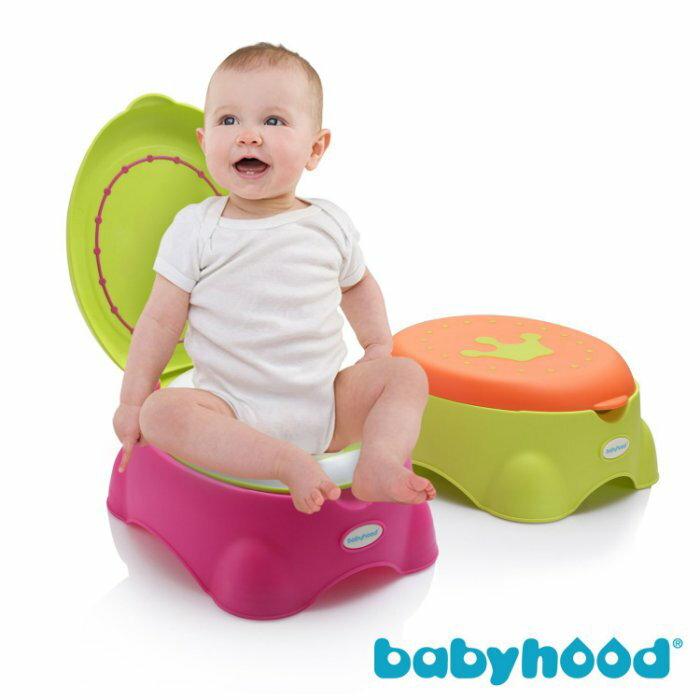 『121婦嬰用品館』傳佳知寶 babyhood 皇室多功能座便器-桃色 1