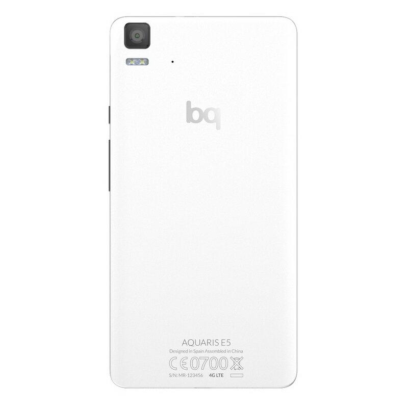 BQ AQUARIS E5 4G 8GB NEGRO/BLANCO - SMARTPHONE LIBRE 5