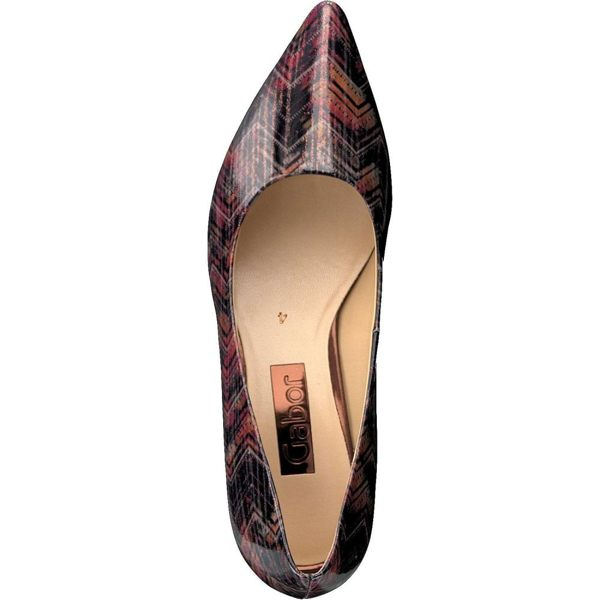 Gabor 菱紋未來感時尚低跟鞋 8