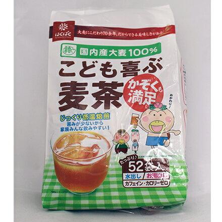【敵富朗超巿】Hakubaku全家麥茶52P 0
