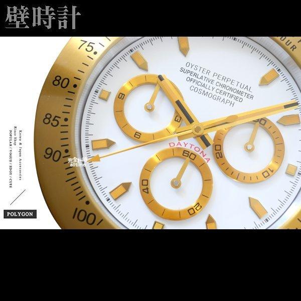 完全計時手錶館│SUBMARINER 獨家典藏 簡約經典名品勞力士設計 水鬼掛鐘時鐘壁鐘 現貨 三眼經典特色 經典