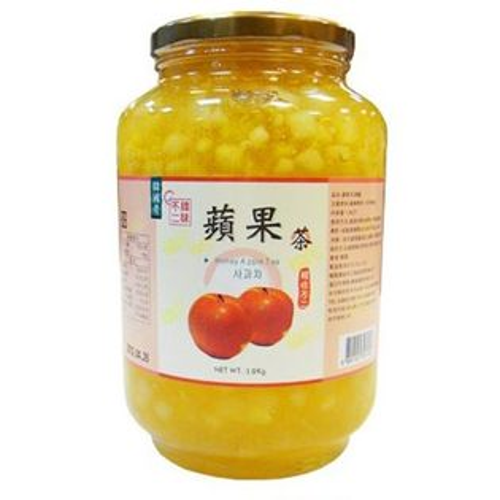 《韓味不二》韓國原裝進口-蜂蜜蘋果茶/1.9Kg
