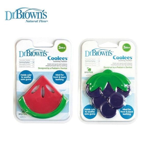 Dr. Brown's布朗博士 - Coolees 水果固齒器 -西瓜/葡萄