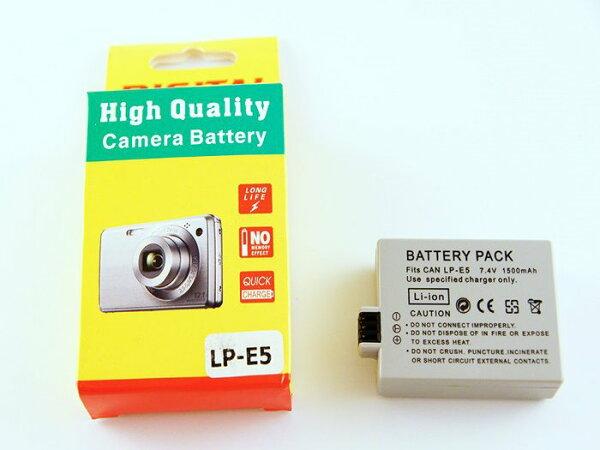 Canon LP-E5 LPE5 副廠防爆鋰電池 1000D 500D 450D Kiss X2 X3- 21202