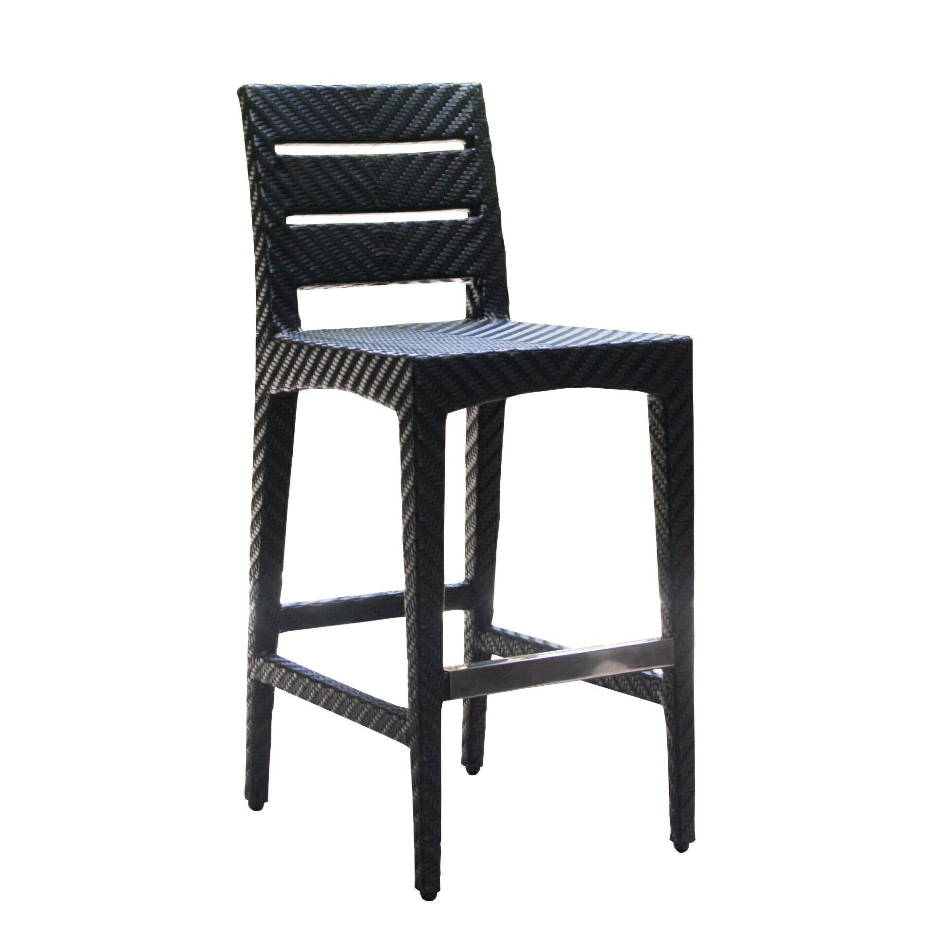 PANAMERA 帕納米 吧檯椅 戶外家具【7OCEANS七海休閒傢俱】EXPRESSO 黑褐色 0